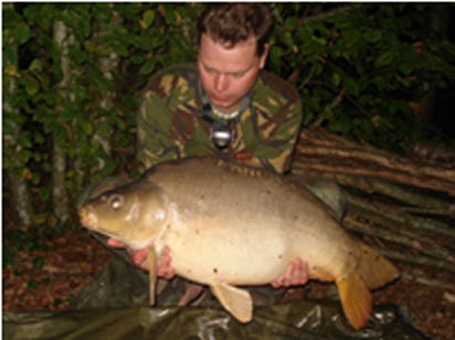 Raymond with a 14kg Mirror